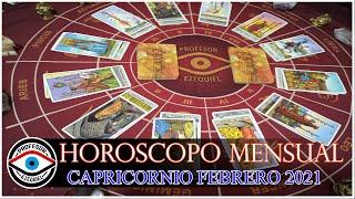 CAPRICORNIO HOROSCOPO FEBRERO 2021