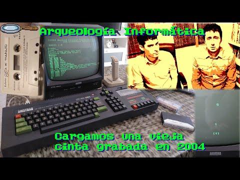 Arqueología Informática 01 - CPC464: Cómo era manejar un ordenador de cintas