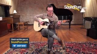 Jake Robinson Guitars Adirondack Brazilian Small Jumbo #0057 Quick n' Dirty