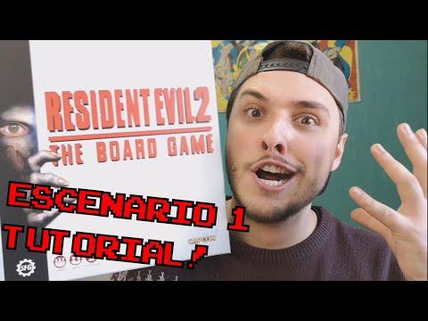 CAMINO A LA COMISARIA!    Resident Evil 2: El juego de mesa (Escenario 1 + tutorial)