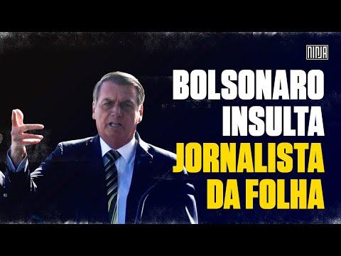 Bolsonaro insulta jornalista Patrícia Campos Mello com insinuações sexuais