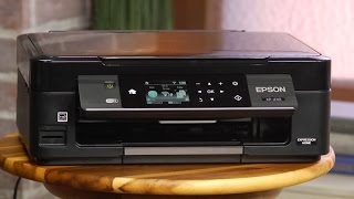 Take back your work space with the compact Epson XP-430 all-in-one printer