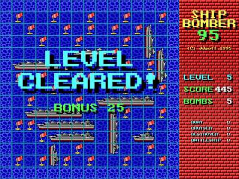 Shipbomber 95 (James Saito, JJsoft) (MS-DOS) [1995] [PC Longplay]