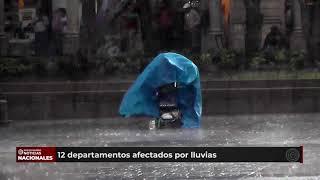 Se reportan fuertes daños por lluvia en distintas partes del país