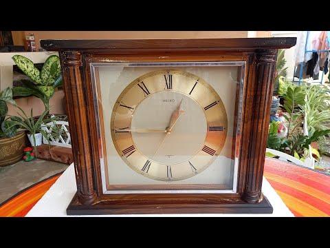 นำเสนอนาฬิกาแขวนโบราณตั่งโต๊ะไ