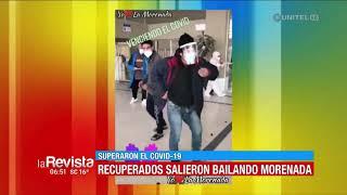 Revista Viral: Pacientes que vencieron el Covid en Oruro salieron bailando morenada