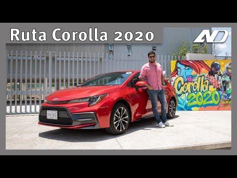 #RutaCorolla2020 - Recorrimos el Bajío para conocer si es mejor el híbrido o gasolina