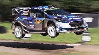 WRC Rallye Deutschland 2017 – Jumps, Pure Sounds  U-Turns from Saturday