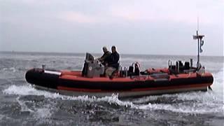 United States Coast Guard SRP Crash Stop Waterjet Zodiac 7m