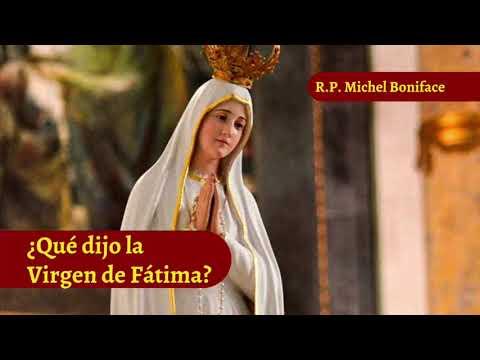 ¿Que dijo la Virgen de Fatima