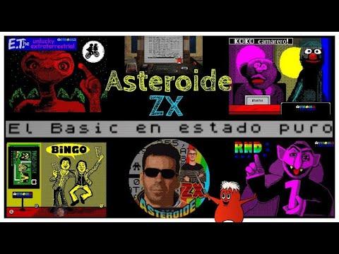 Asteroide ZX: El Basic en estado puro