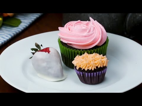 Frosting Tips For Pretty Cupcakes ? Tasty Recipes