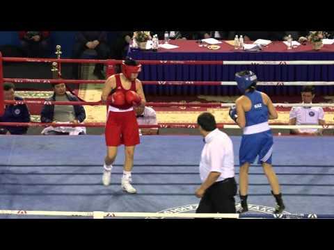 Kazakhstan women's boxing championships 2016, final, 64 kg