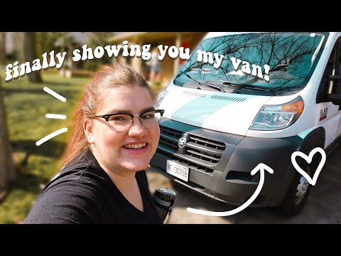 a productive day in my life vlog | van tour sneak peak, getting my 100K award, and more!