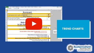Scorecard - Excel template - YouTube
