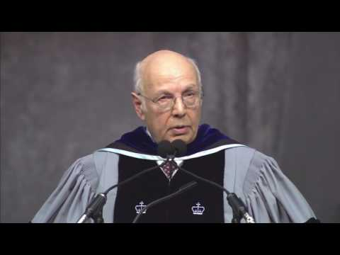 Stephen Donadio '63: Brandeis University's 9th Presidential Inauguration