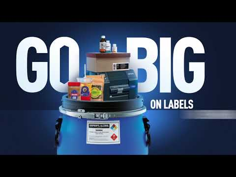 Epson ColorWorks Go Big Campaign: Go Big on Labels on Demand