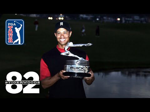 Tiger Woods wins 2005 Buick Invitational Chasing 82
