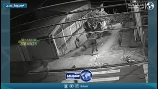 كاميرا ترصد مطاردة شرطة للص وامرأة لزوجها في نفس الوقت