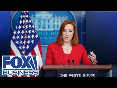 Live: Psaki, climate czar Kerry holds a White House press briefing