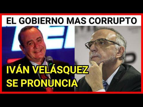 El compromiso de Giammattei de luchar contra la corrupción no es sincero, dice Iván Velásquez.
