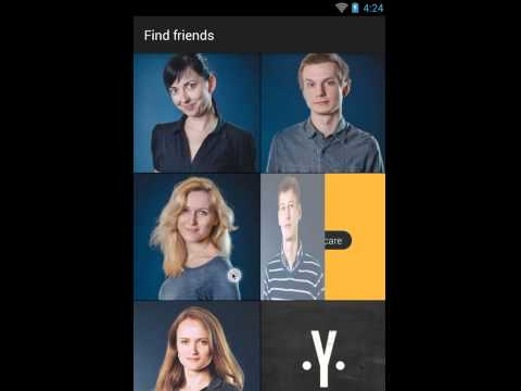 FlipViewPager demo animation for Android