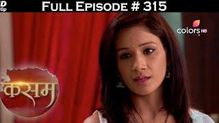 Kasam - Full Episode 315 - With English Subtitles - COLORSTV