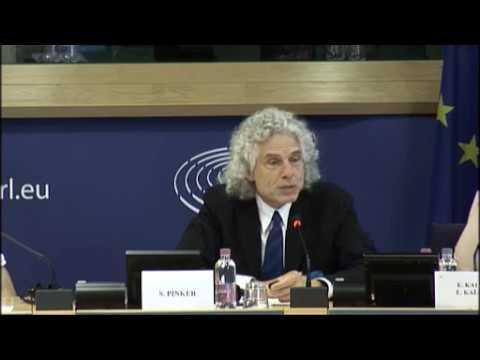 EU Parliament Artificial Intelligence Debate - Steven Pinker