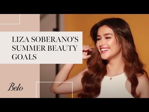 Liza Soberano's #SummerBeautyGoals