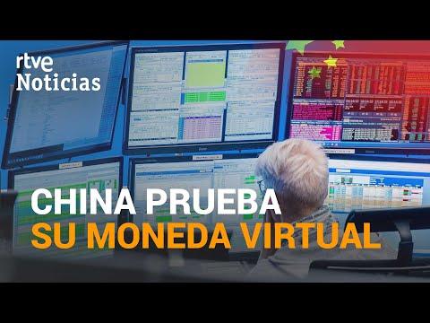 CHINA será el primer país del mundo en usar una MONEDA VIRTUAL, el YUAN virtual | RTVE Noticias