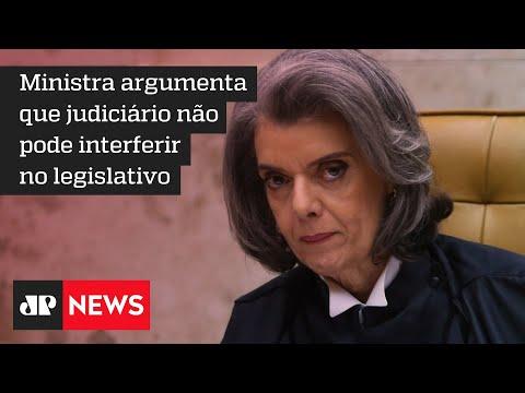 Cármen Lúcia rejeita ação de Haddad para obrigar Lira a analisar impeachment de Bolsonaro