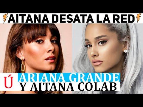 ¡Qué fuerte! Aitana va a colaborar con Ariana Grande en un remix de 34+35 según un insider