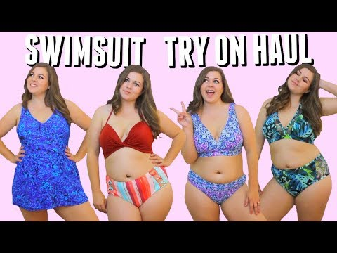 Curvy Bikini Try On Haul! Swimsuits For Spring Break 2018!