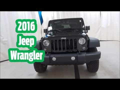 2016 Jeep Wrangler at Schmit Bros Dodge/Chrysler/Jeep in Saukville, WI!