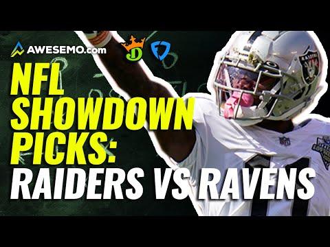 Showdown NFL DFS Strategy 9/13   Monday Night Football Raiders vs. Ravens