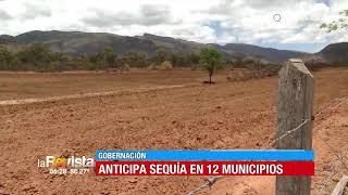 La Gobernación anticipa sequía en 12 municipios de Cochabamba