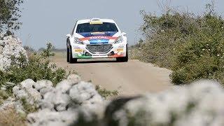Rally del Salento 2017: Peugeot 208 T16 e Paolo Andreucci – Shakedown