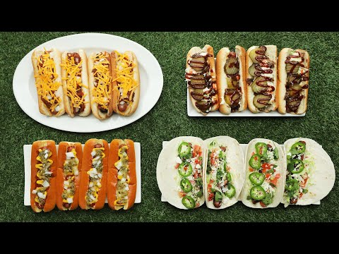Stadium Dogs 4 Ways In 15 Minutes Or Less // Presented by BuzzFeed & GEICO