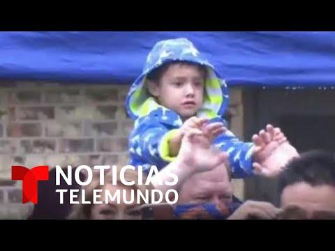 Celebran fiesta de cumpleaños a un niño latino que perdió a sus padres por COVID-19