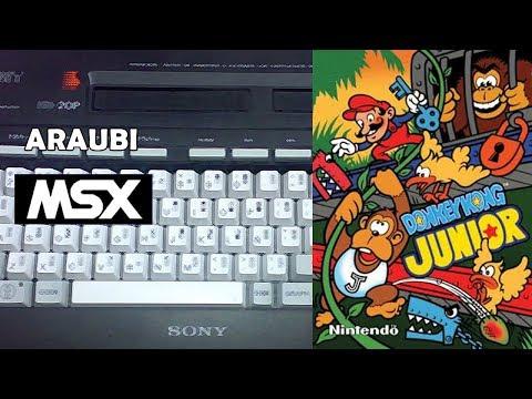 Donkey Kong Jr (GDX, 2012) MSX [698] Walkthrough Comentado