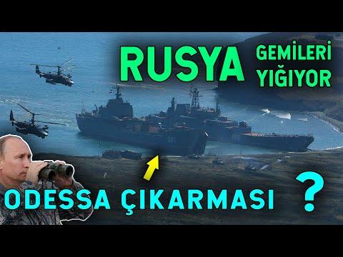 Rusya ve NATO Karadeniz'e Gemi Yığıyor! Yeni Bir NORMANDİYA MI?