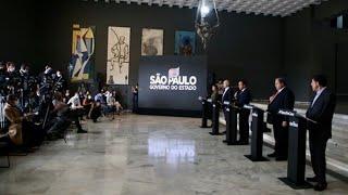 Governo de SP anuncia novas medidas no combate à pandemia - 09/07
