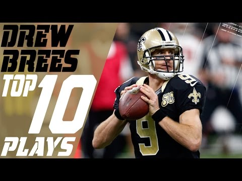 Drew Brees' Top 10 Plays of the 2016 Season | NFL Highlights