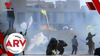 EEUU envía tropas a Irak y a Kuwait ante posible guerra contra Irán   Al Rojo Vivo   Telemundo
