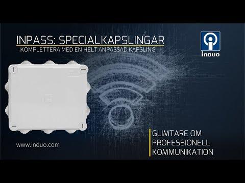 Kapsling för din trådlösa enhet -Inpass från Induo del 1