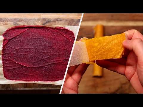 Fruit Rollers 7 Ways ? Tasty Recipes
