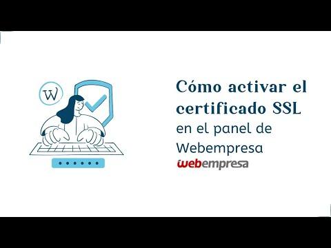 Cómo configurar un certificado SSL para una web WordPress