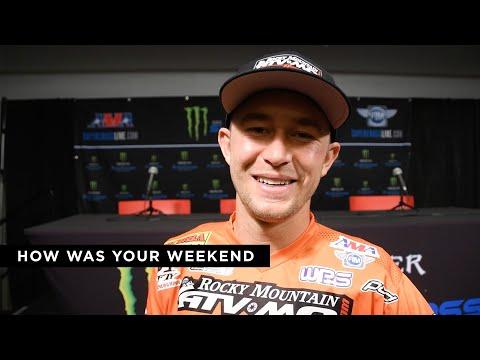 2019 Glendale Supercross 450 Class Post-Race Interviews