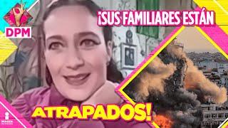 ¡Diana Golden preocupada por sus familiares y amigos en Israel por bombardeos! | De Primera Mano