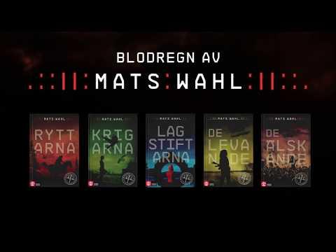 En inblick i ett framtida Sverige genom Mats Wahls bokserie Blodregn